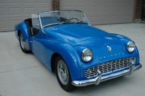 1961 Triumph TR3A Overdrive