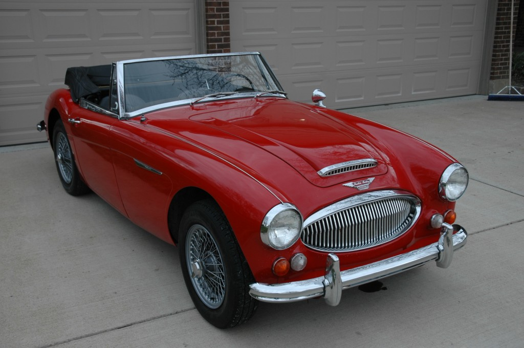 1967 Austin Healey 3000 BJ8 Wire Wheels Overdrive