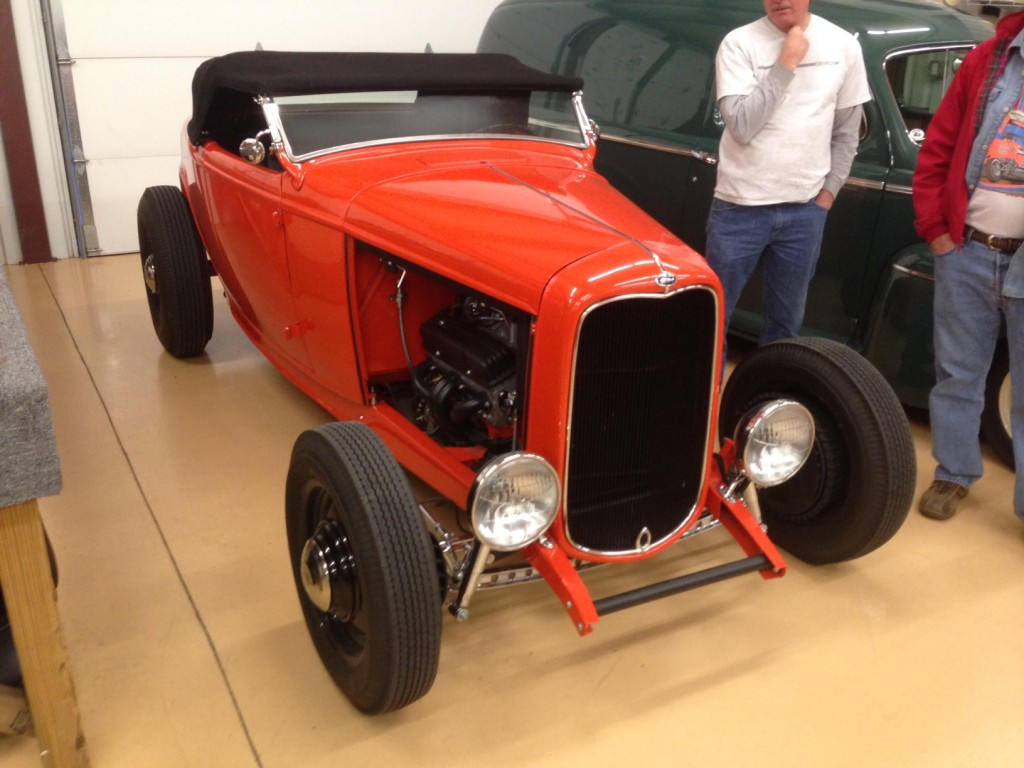 1932 High Boy Roadster at Hot Rod Garage