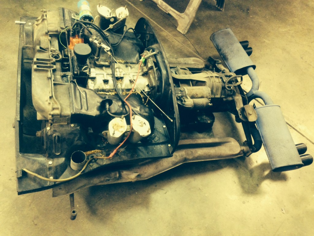 914 2.0 engine transaxle and exhaust