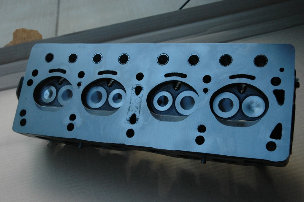 Triumph TR4A Reconditioned Cylinder Head Ready for Installation